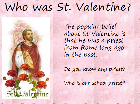 valentines lesson fearas scoile