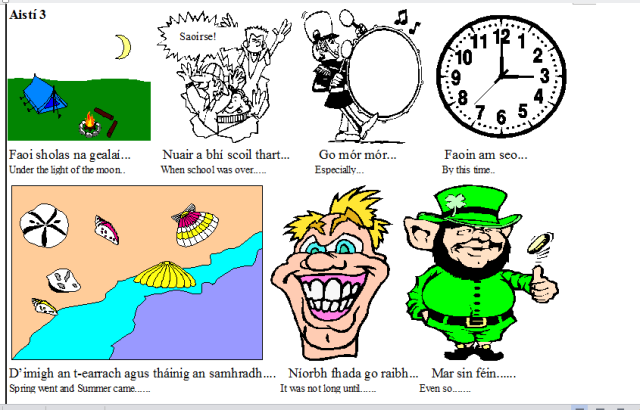 Useful phrases in irish essays