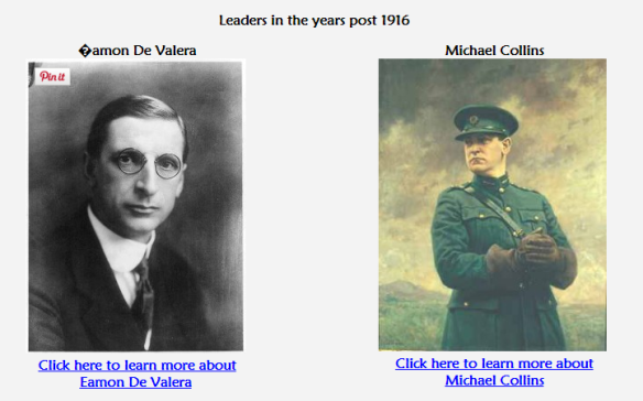 leaders in the years post 1916