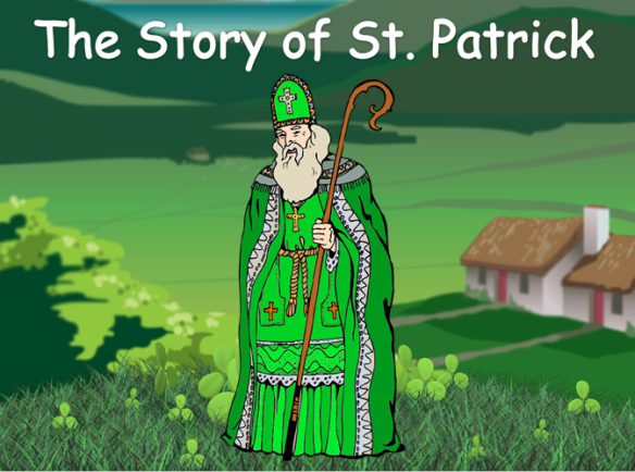 st. patrick | fearas scoile, Powerpoint templates