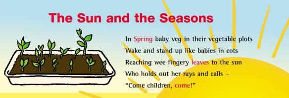 spring rhyme