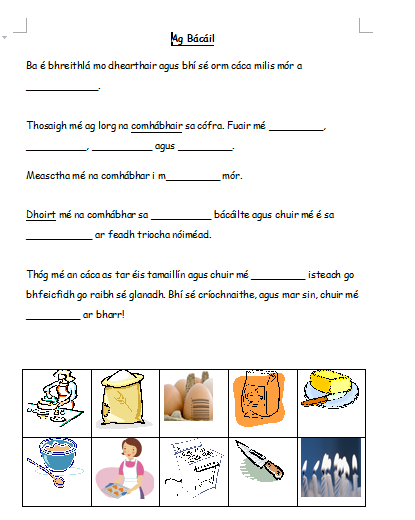 worksheet bia